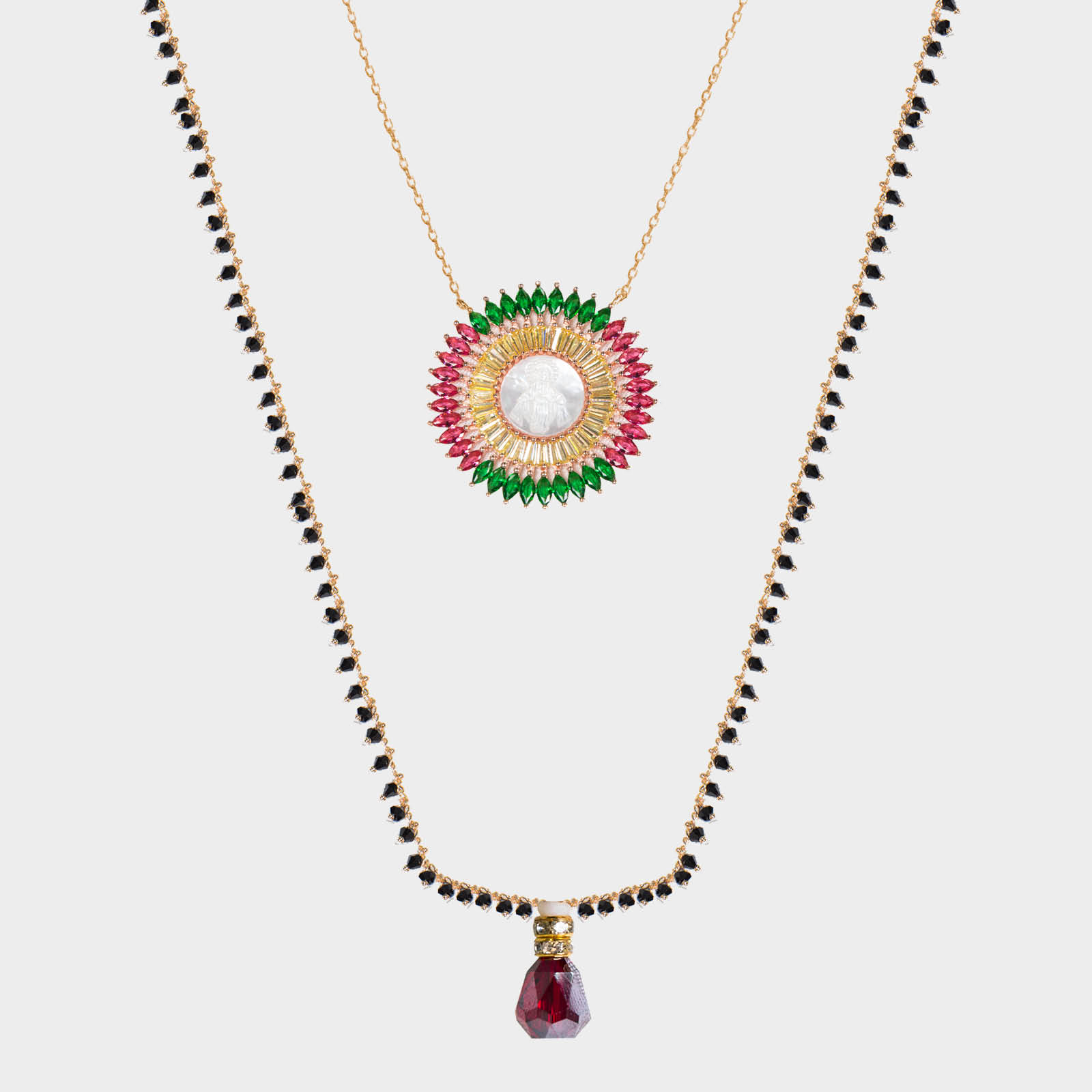 Necklace Maria Flower
