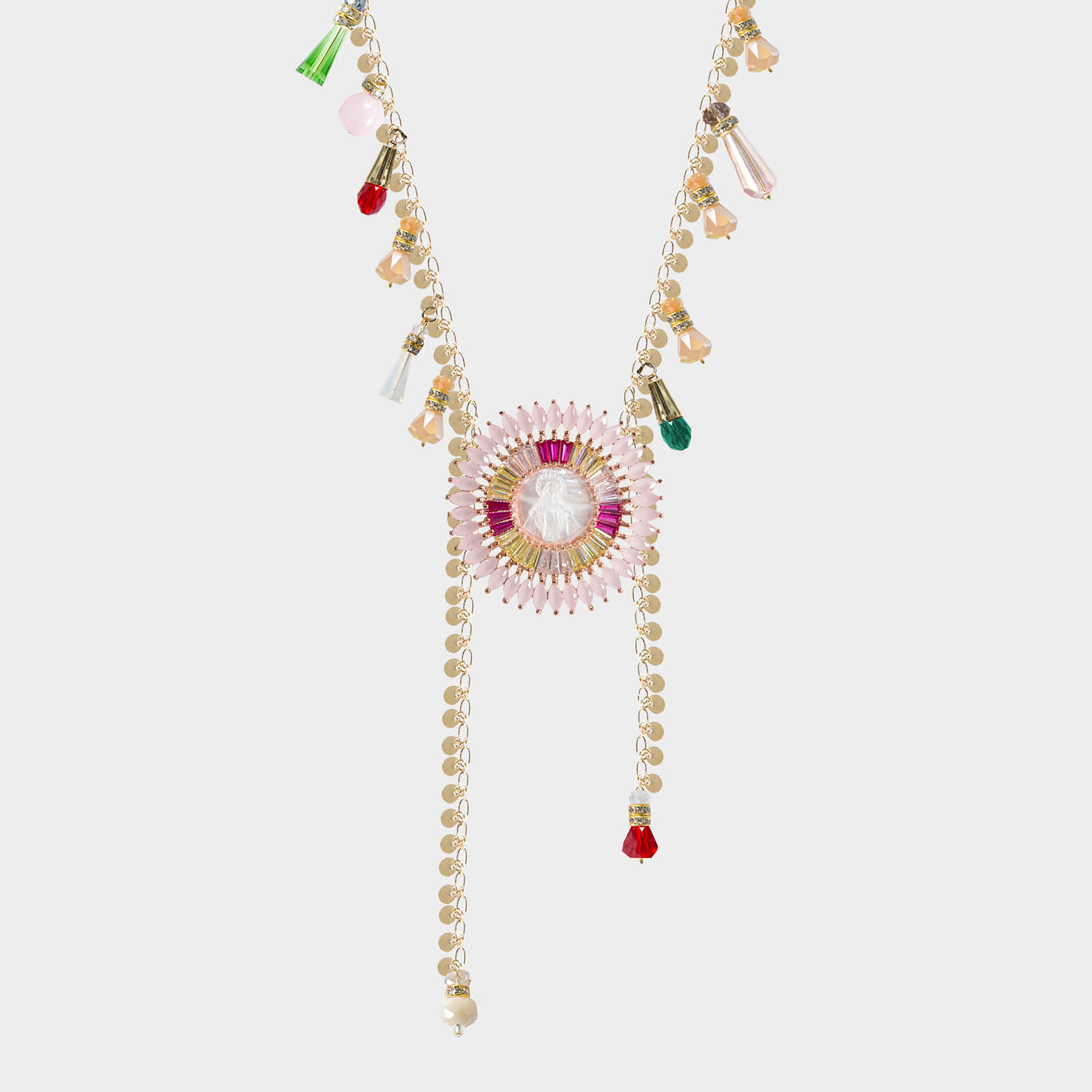 Angel Deluxe Pink Necklace