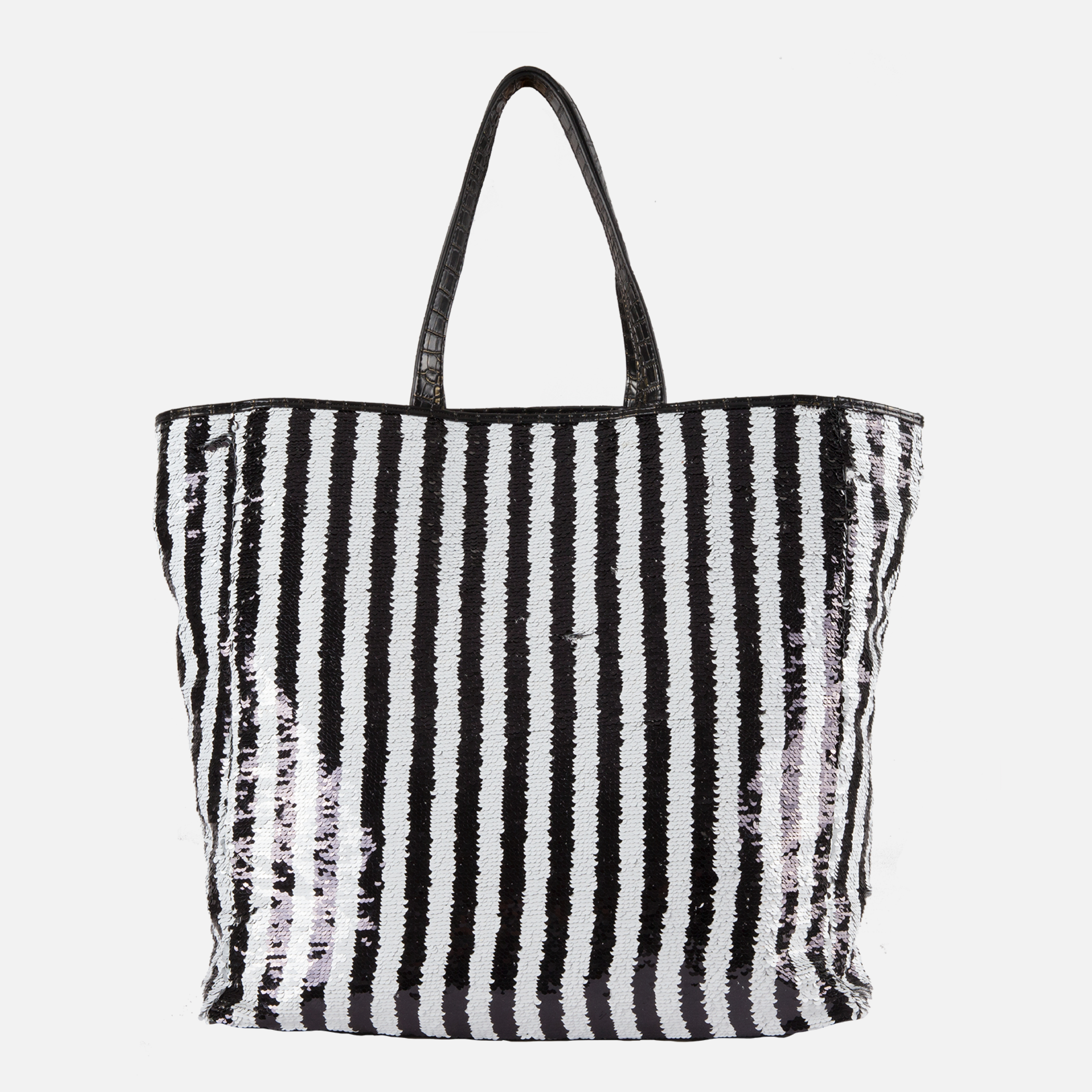 Shopper White/Black