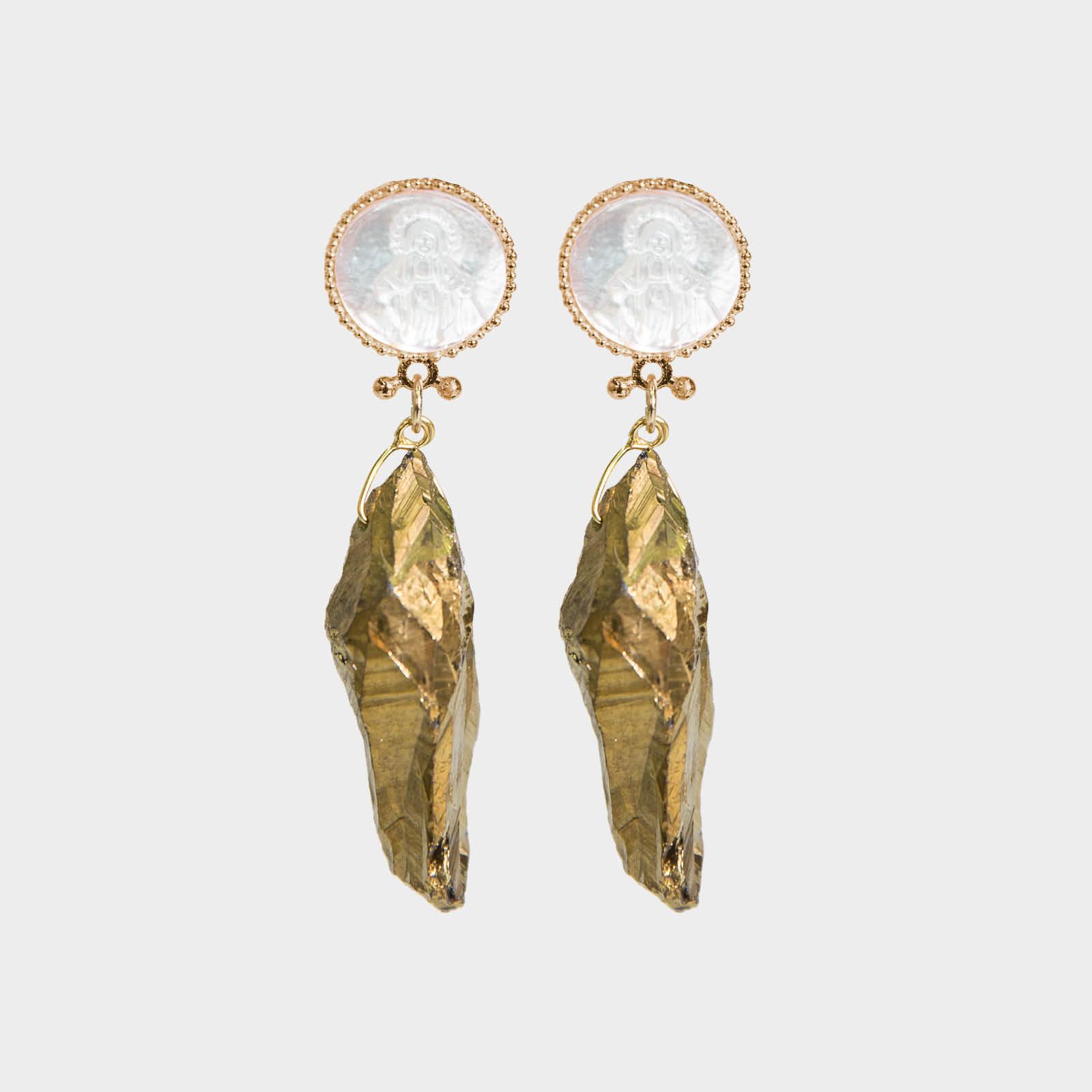 Maria Agate Earrings
