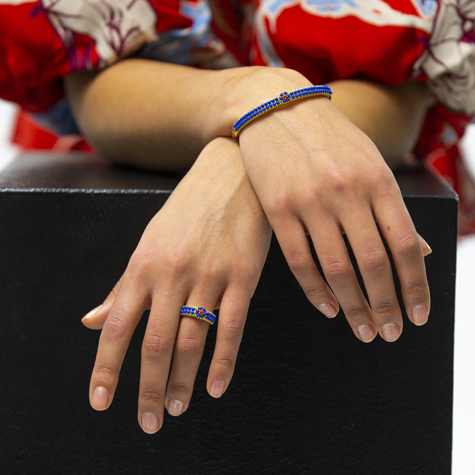 The Amazon Bracelet Blue