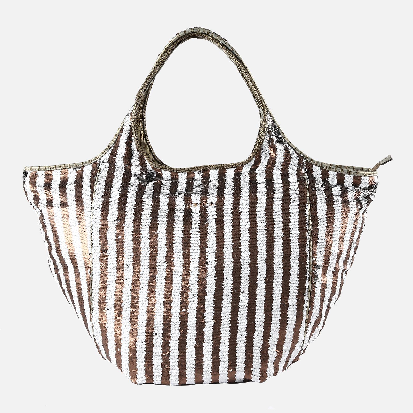 Shoulder Bag Glamour White/Taupe