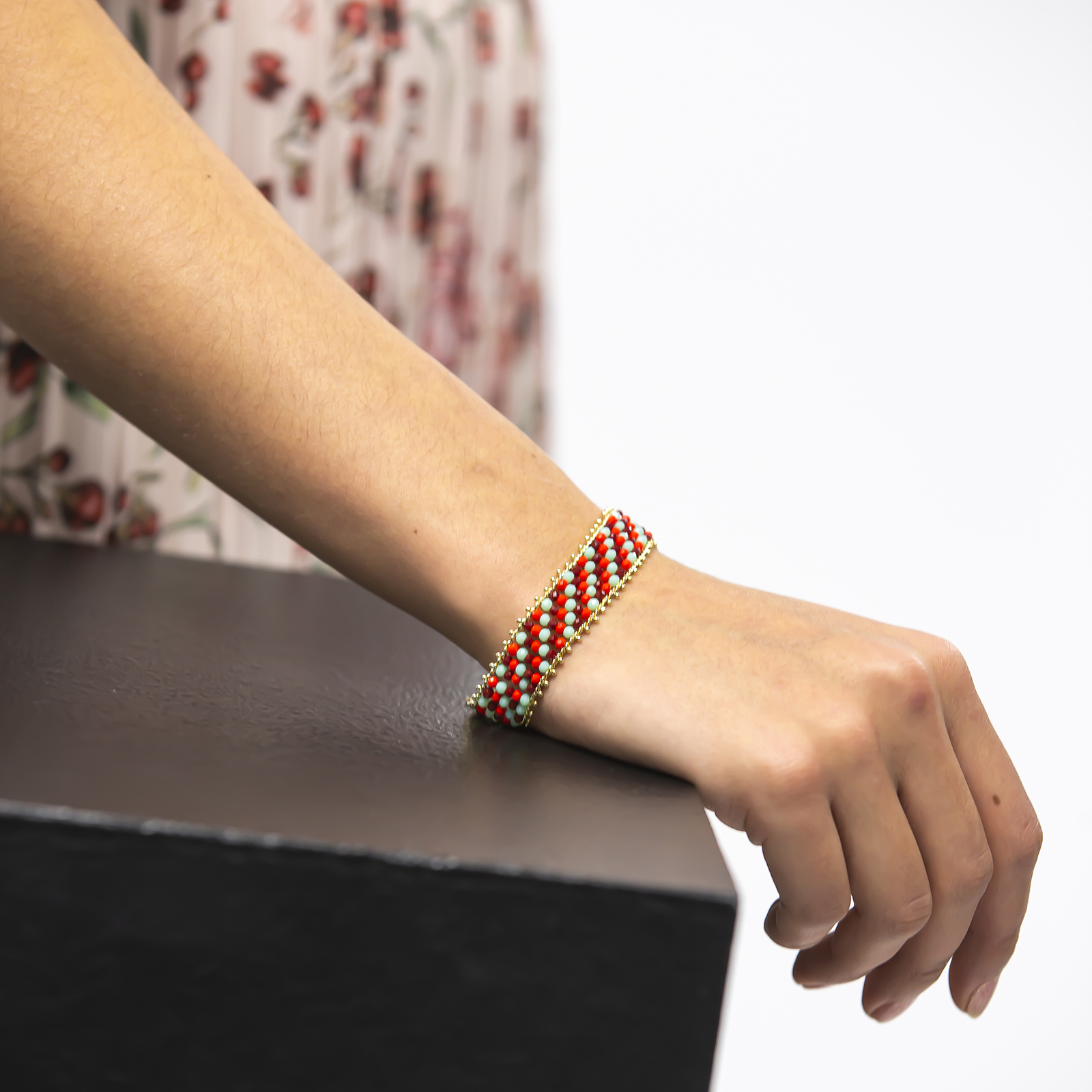 Amazon Maria Red Bracelet