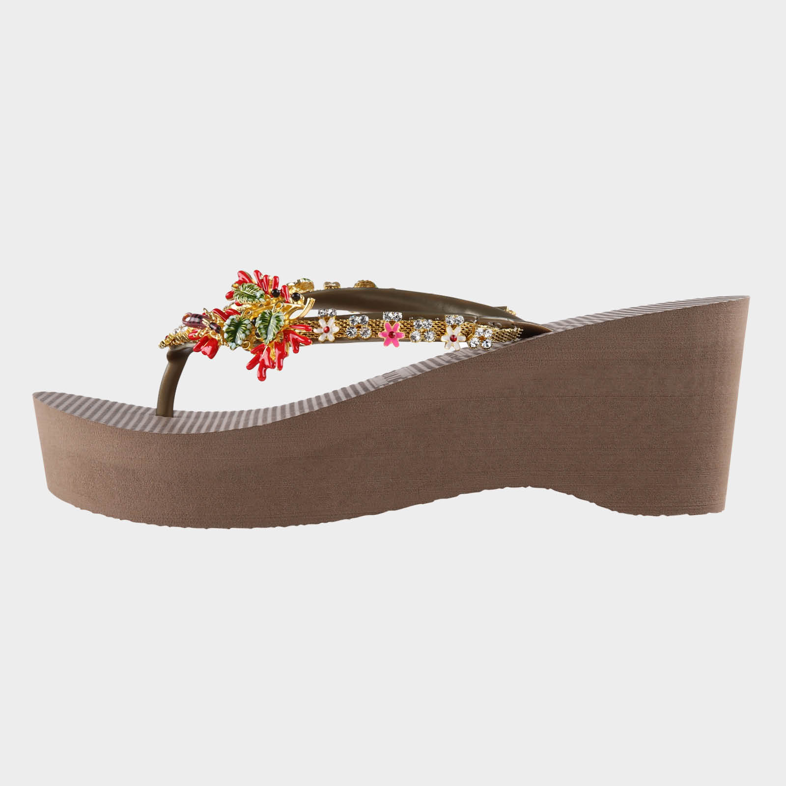 Passion Flower High Heel