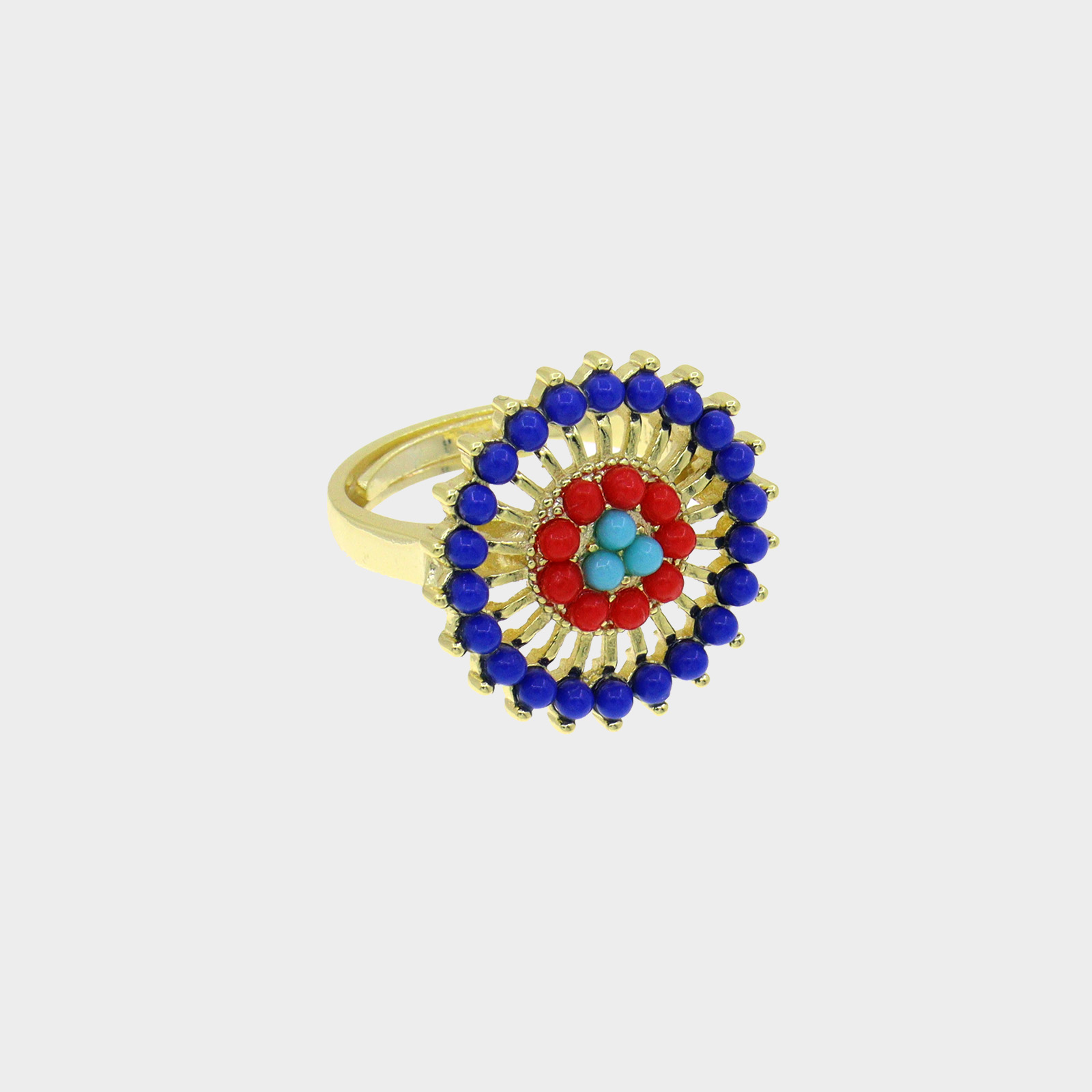 The Ring Amazon Flower Blue