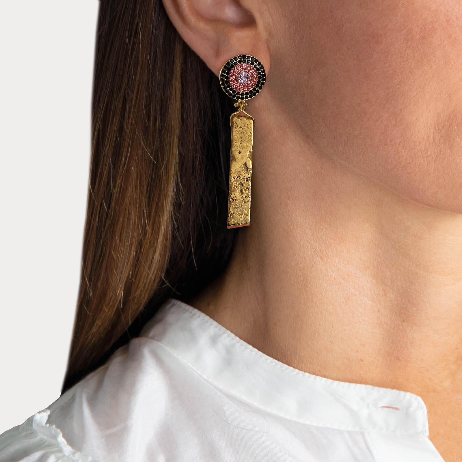 Aby Agate Earrings