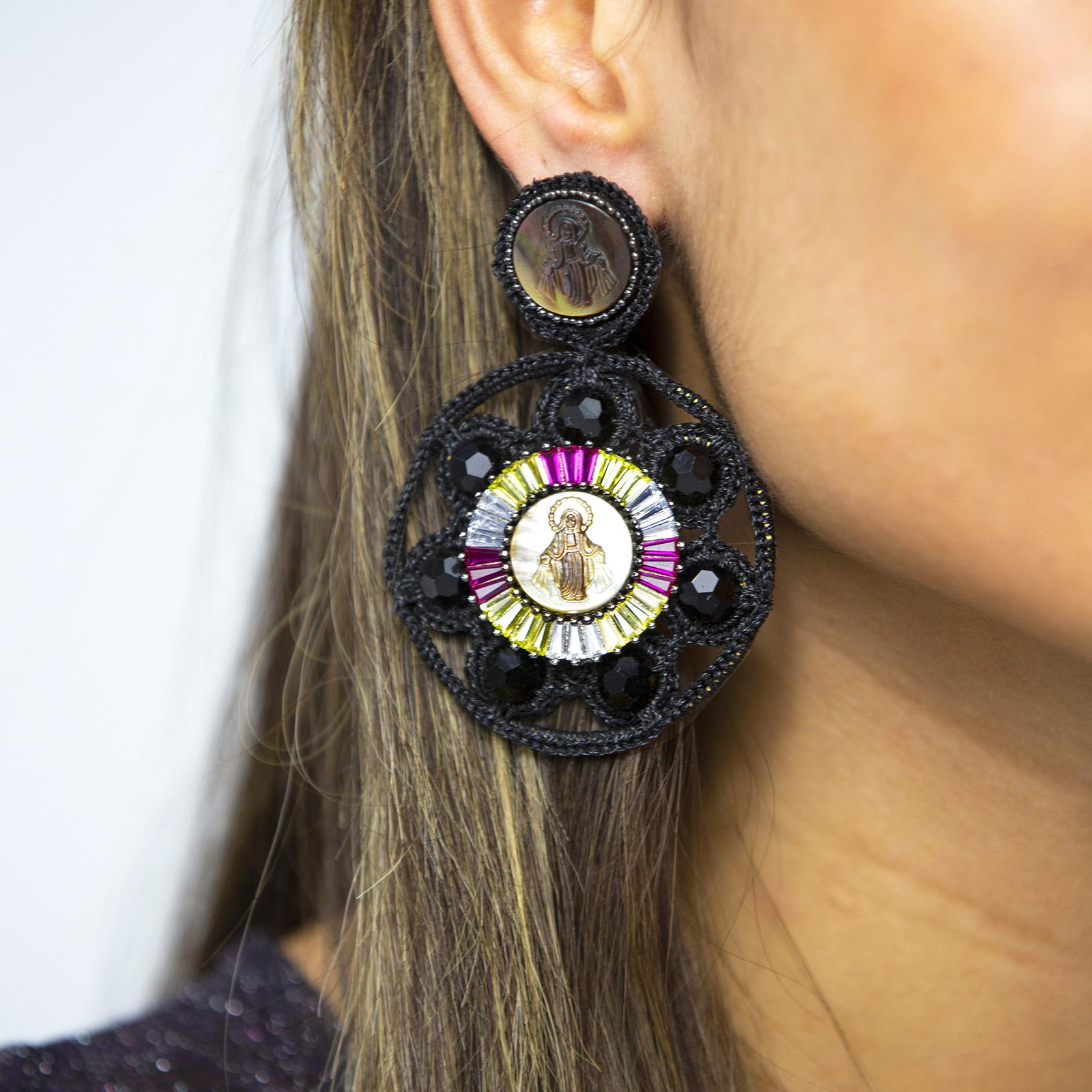 Angel Flowers Earrings