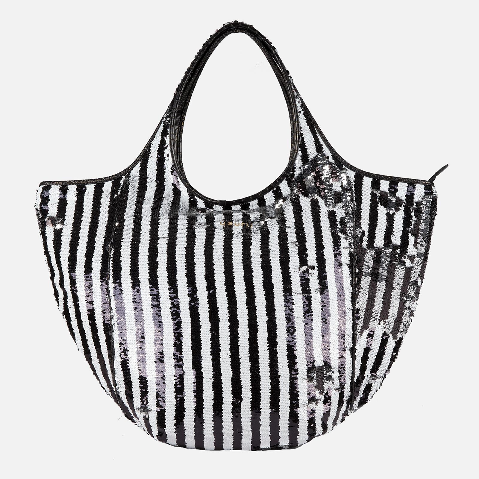 Shoulder Bag Glamour White/Black