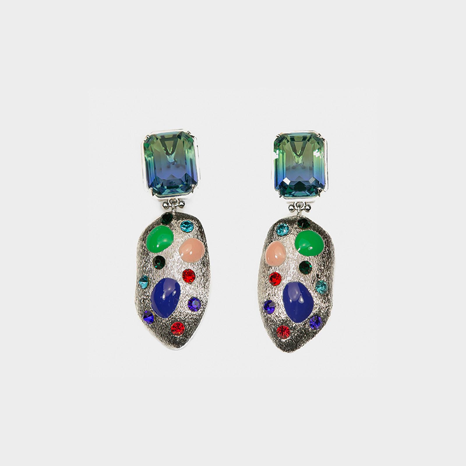 Fantasy Blue Earrings