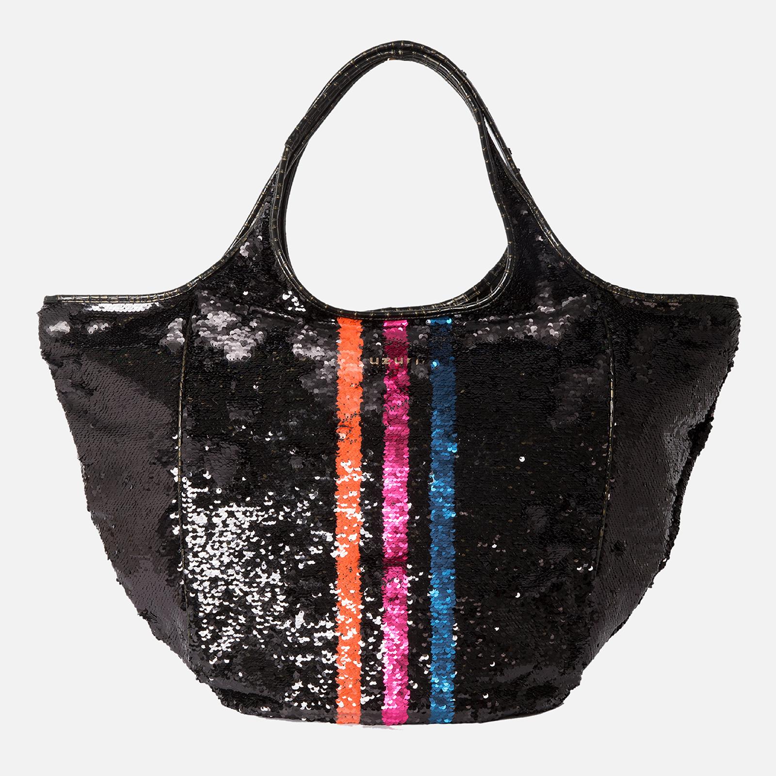 Shoulder Bag Glamour Color Stripe