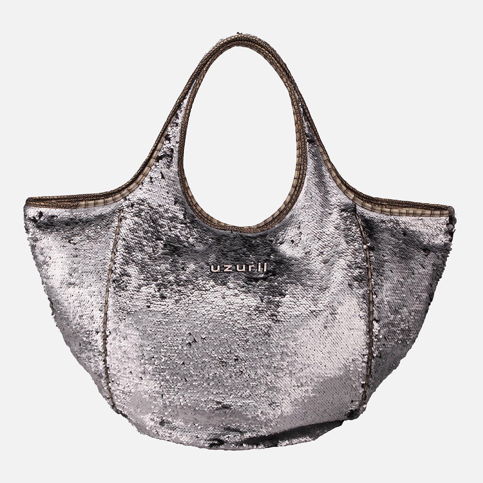 Shoulder Bag Glamour Silver