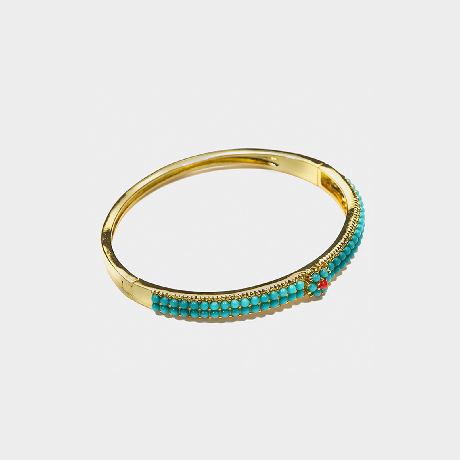 The Amazon Bracelet Turquoise