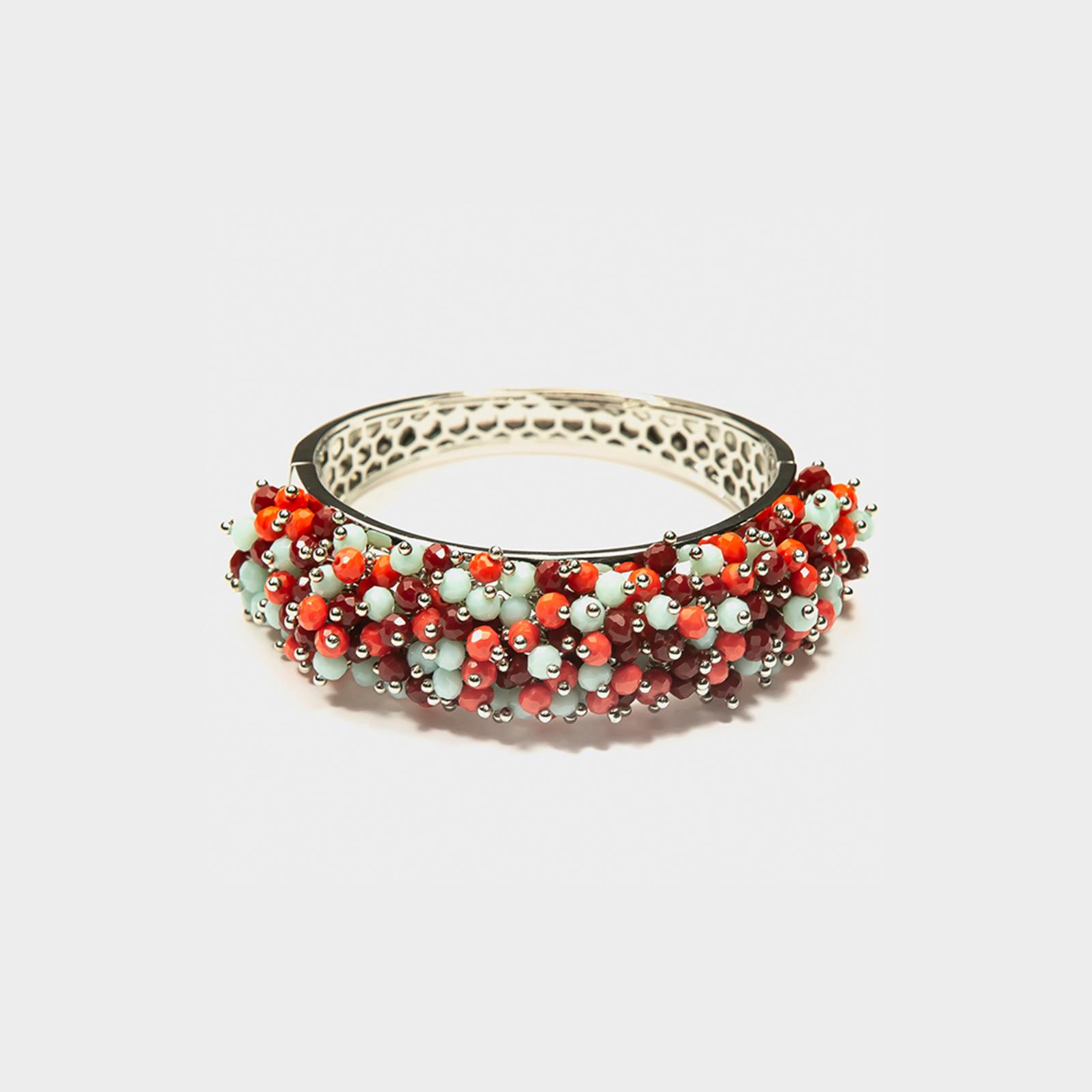 Precious Bracelet Red/Turquoise L
