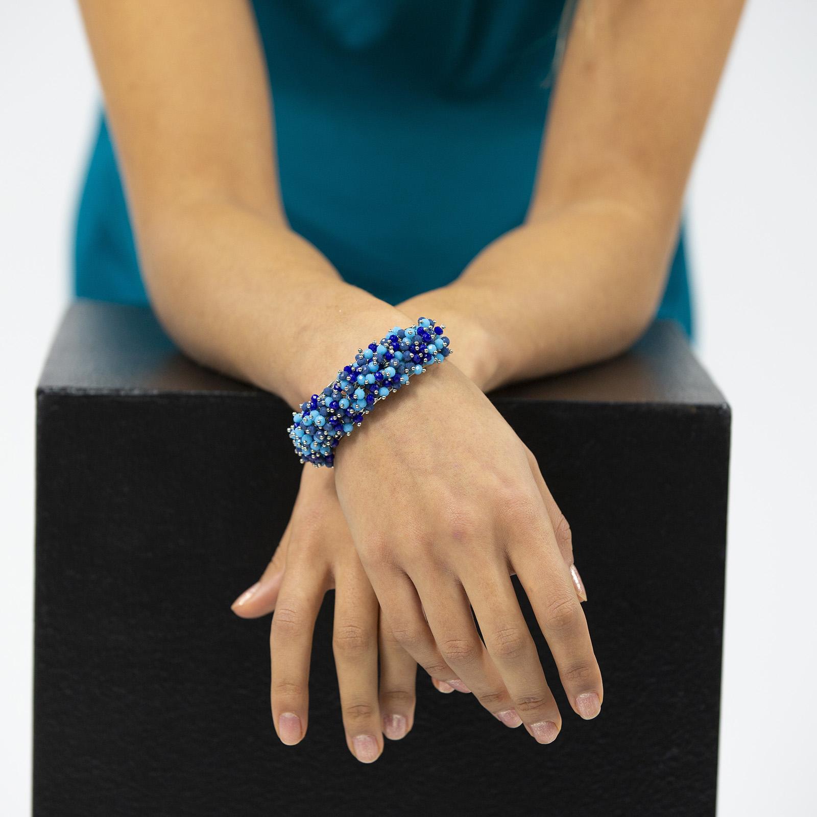 Precious Bracelet Blue/NavyBlue L