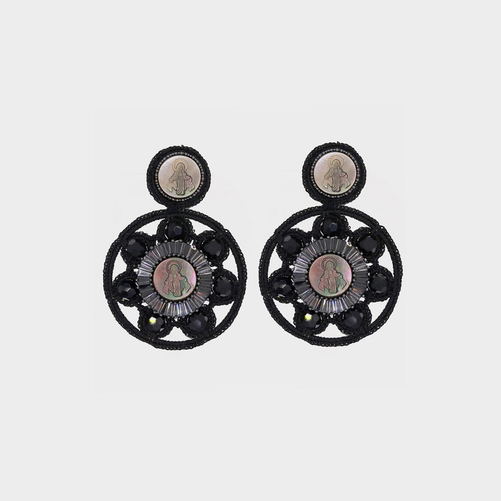 Maria Flowers Earrings