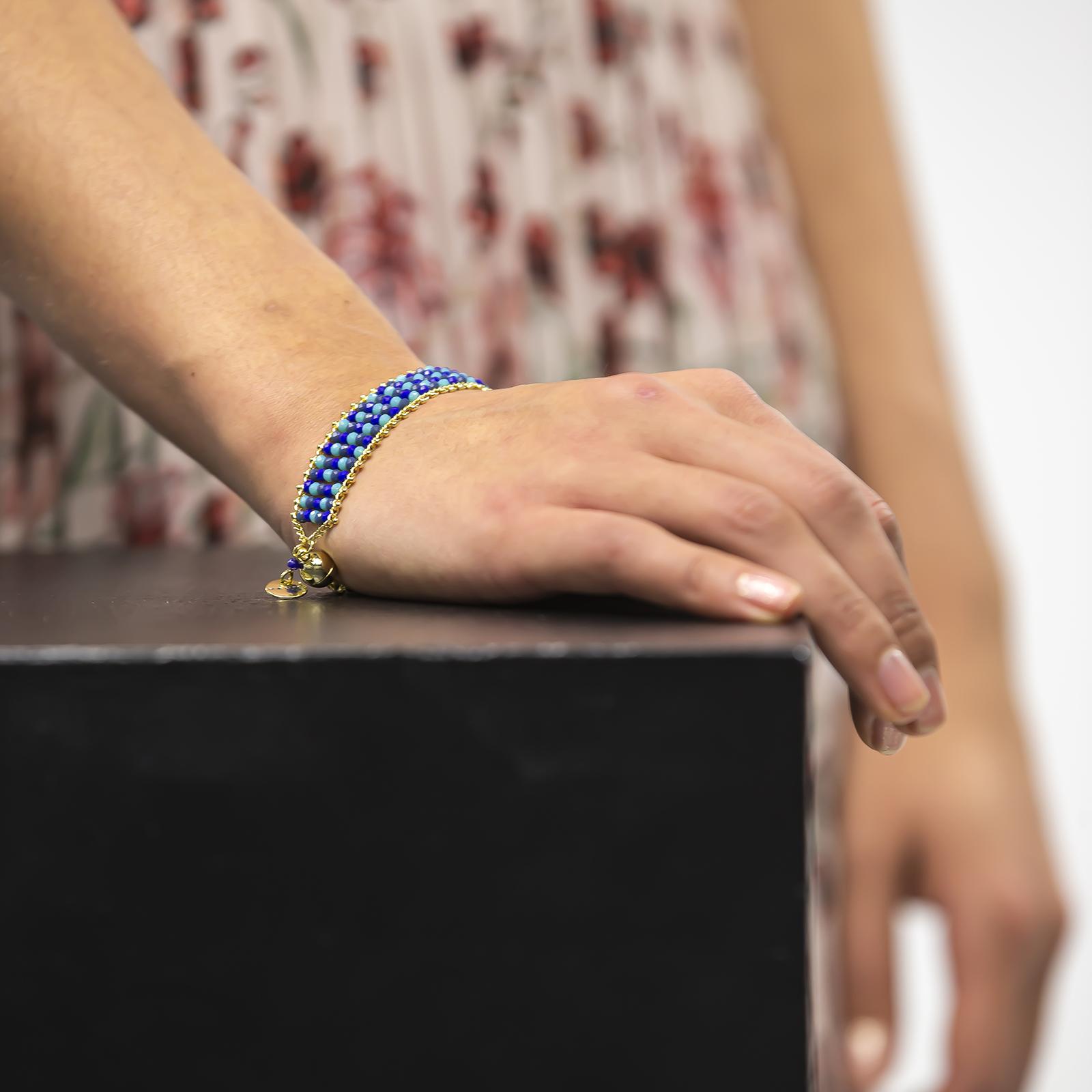 Amazon Maria  Blue Bracelet